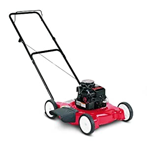 Yard Machine 11A-020L700 148cc Briggs and Stratton Side Discharge Gas Powered Push Lawn Mower, 20-Inch from MTD Products
