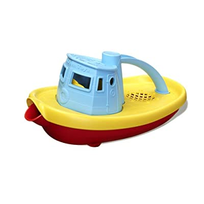Green Toys Tugboat (Colours Vary)