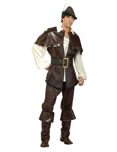 Robin Hood Adult Costume Lg 46-48 Adult Mens Costume