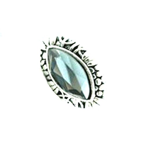 Styonal Styonal Chunky-Funky Silver Gemstone Fashion Ring For Women
