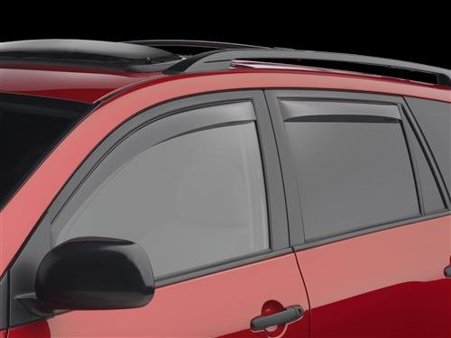 for 2002-2010 Ford Explorer Window Visor Smoke Tint Wind Deflector Vent Rain Shade Guards 4 Piece