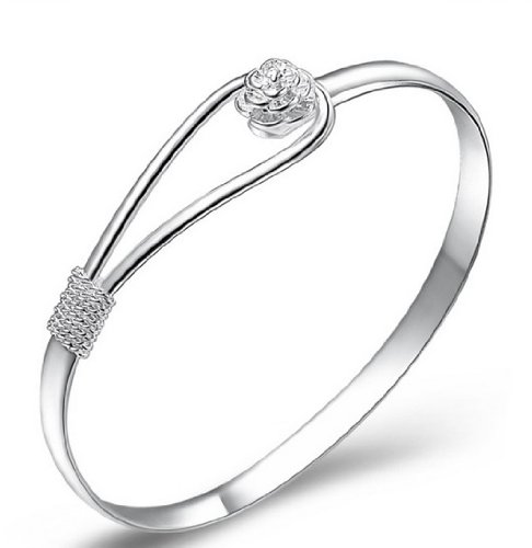 925-sterling-silver-elegant-clip-on-button-style-floral-design-bracelet-bangle-jewellery-classic-des