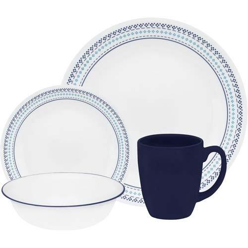 corelle-16-piece-vitrelle-glass-folk-stitch-chip-and-break-resistant-dinner-set-service-for-4-blue