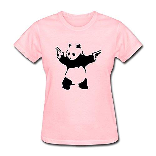 Jeff Women Panda T-Shirt Pink X-Small