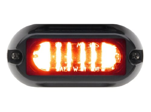 Whelen Engineering Linz6 Super-Led Lighthead - Red/Red