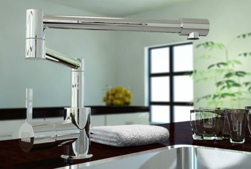 Luxury Chrome Kitchen Swivel Basin Sink Faucet (Delta Grant Kitchen Faucet compare prices)