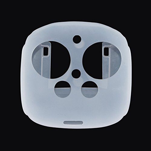 Silicone Case for DJI Phantom 3 Inspire 1 Remote Controller, Akwox Anti-dust Protective Soft Skin Cover Case For DJI Phantom 3/Inspire 1 Remote Controller (transpartent)
