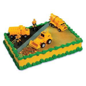 Best Review Of Construction Scene Cake Topper Kit