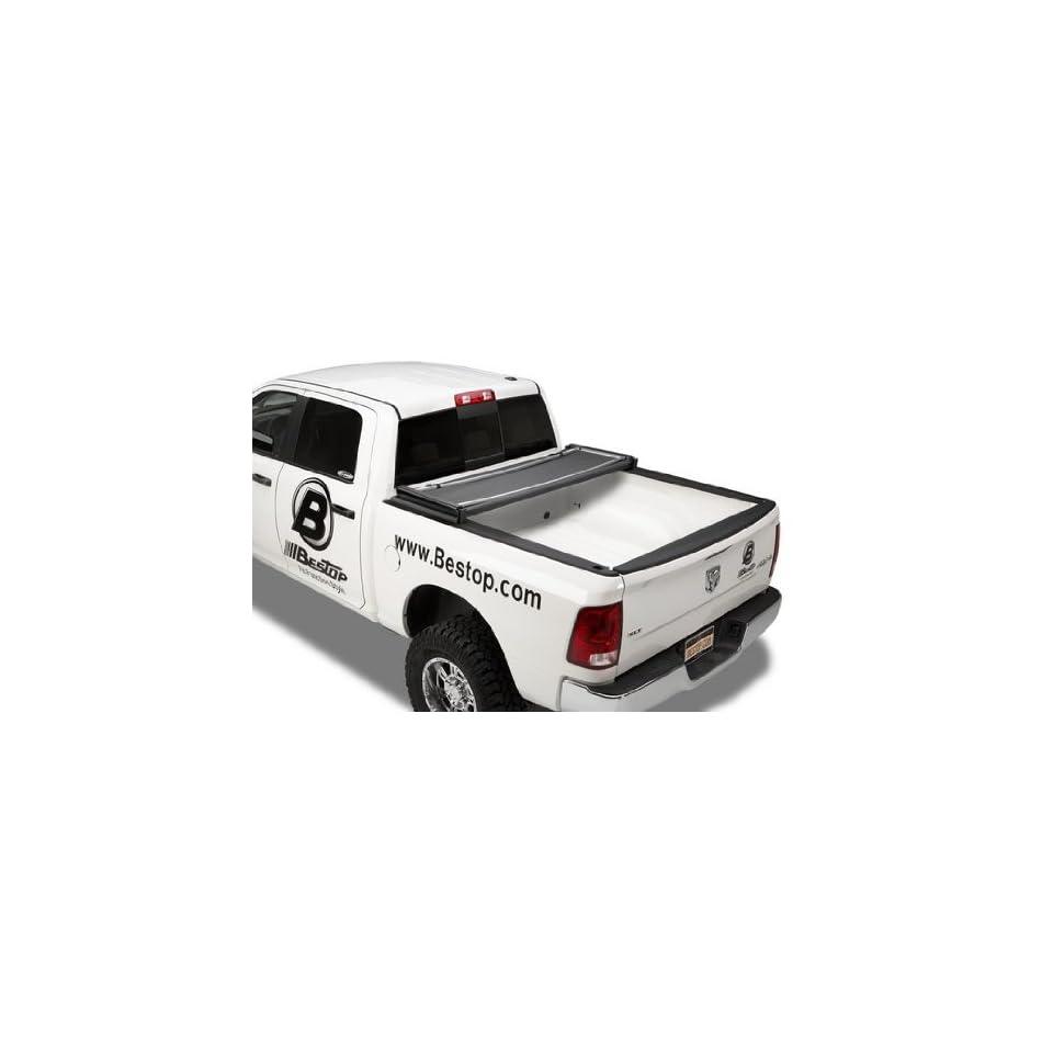 Bestop 16240 01 EZ Fold Truck Tonneau Cover for Dodge Ram, 1500, 6.4 Bed, 2009 2013; Dodge Ram 2500/3500, 6.4 Bed, 2010 2013 (except Ram Box)