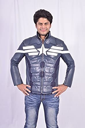 Amazon.com: Captain America Winter Soldier Jacket: Clothing