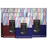 Fabriano Studio Watercolor Paper 90 lb. Hot Press 75-Sheet Pad 11x14