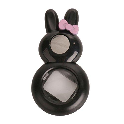 Woodmin Lapin Style Selfie-lentille Filtres pour Fujifilm Instax Mini 8 / 7S Caméra (Noir)