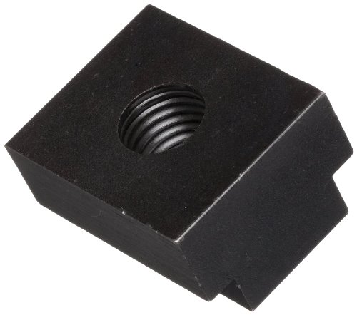 Steel T-Slot Nut, Black Oxide Finish, Grade C, Right Hand Threads, Class 2B 5/8