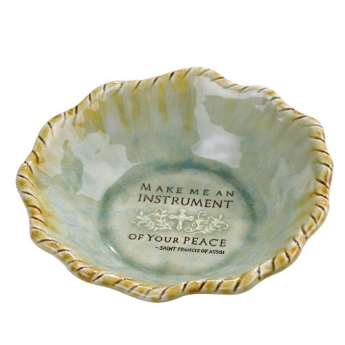 Grasslands Road Scriptures 7-1/2-Inch Stoneware Faith
