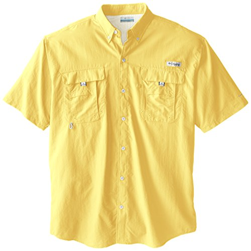 Columbia Men's Bahama II Short Sleeve Shirt, Sunlit, 2X Tall
