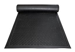 Large Floor Mat by Castle Mats, Size 3x5 feet, Non-Slip, Durable, Nitrile Rubber