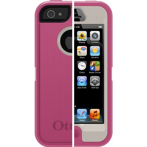 Otterbox Defender Series Case For Iphone 5 - Retail Packaging - Blush Pink
