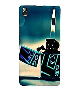 love fire and Lighter 3D Hard Polycarbonate Designer Back Case Cover for Lenovo A7000 :: Lenovo A7000 Plus :: Lenovo K3 Note
