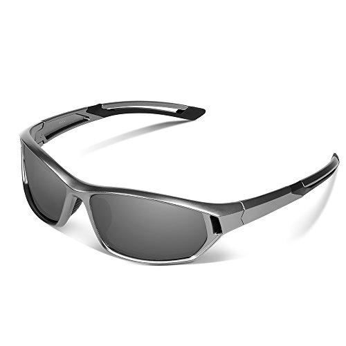 Ewin E31 Polarized Sports Sunglasses for Men Women Golf Travel Driving Fishing (Uv Protective Face Shield compare prices)