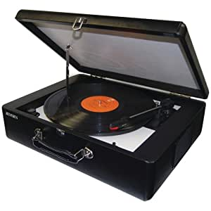 Jensen JENJTA420 JTA-420 Portable Turntable with built in Speakers.