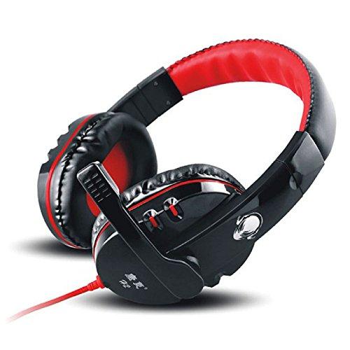 Doinshop Great Quality Latest Hot Gaming Microphone Mic Stereo Earphone Headset Headphone