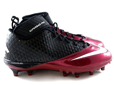 Buy Nike Super Bad Lunar Pro Td Black Maroon Red Football Mens Cleats by Nike