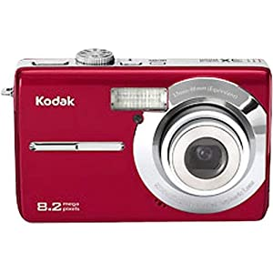 Kodak Easyshare M853 8.2 MP Digital Camera with 3xOptical Zoom (Red)