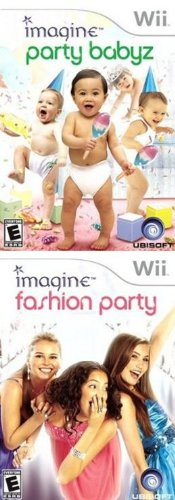 Imagine Party 2 Pack: Babyz Daycare + Fashion Party