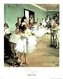 Dance Class Edgar Degas Art Print Poster - 13x19