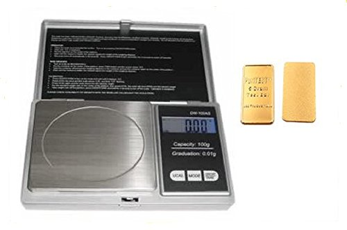Digital Portable Precision Pocket Reloading Scale Weigh 100 X 0.01G Gram Ounce, Layer, National, Uniform front-1055122