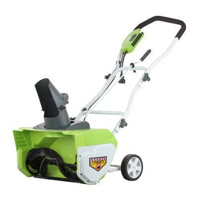 GreenWorks 26032 12 Amp 20″ Corded Snow Thrower