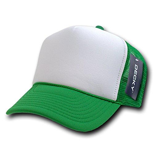 DECKY Two Tone Trucker Mesh Caps Plain Baseball Hat