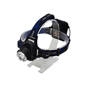 1200ルーメン LEDヘッドライト 角度調整 ズーム付き
