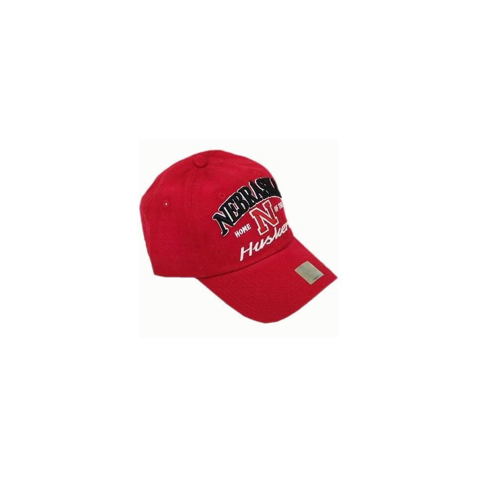 NEBRASKA CORNHUSKERS OFFICIAL NCAA LOGO COTTON HAT CAP