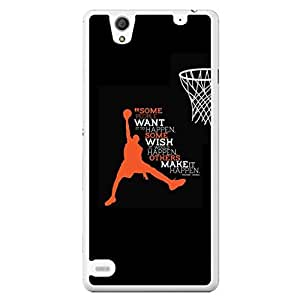 a AND b Designer Printed Mobile Back Cover / Back Case For Sony Xperia C4 (SONY_C4_3036)