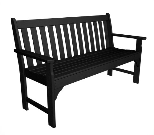 Sale Cheap Poly Wood Vineyard 60 Inch Bench Black Pthogb 39 S Diary