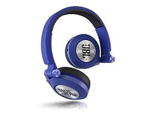 JBL E40 BT Wireless Bluetooth On-Ear Stereo-Kopfhörer Aufladbar mit Superweichem Ohrpolster, Integrierter Fernbedienung/Mikrofonsteuerung und ShareMe Technologie Kompatibel mit Apple iOS und Android Geräten - Blau