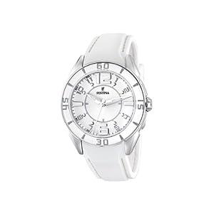 Festina - F16492/1 - Montre Femme - Quartz - Analogique - Bracelet plastique Blanc