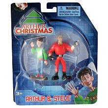 Arthur Christmas Mini Figure 2Pack Arthur Steve - 1