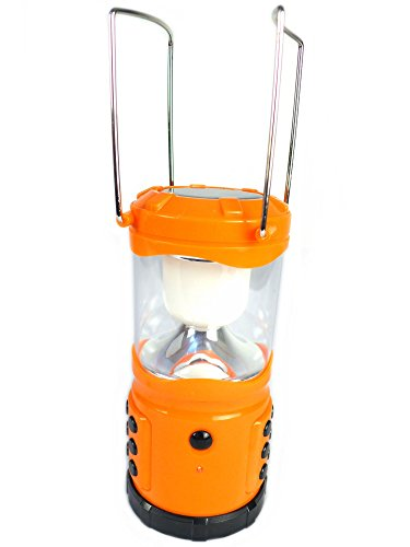 A-One ASCSPL Solar LED Emergency Camping Light (With In-built Solar Panel)