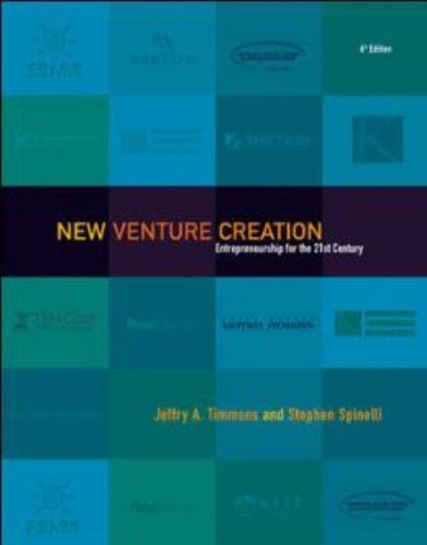 New Venture Creation: Entrepreneurship for the 21st...