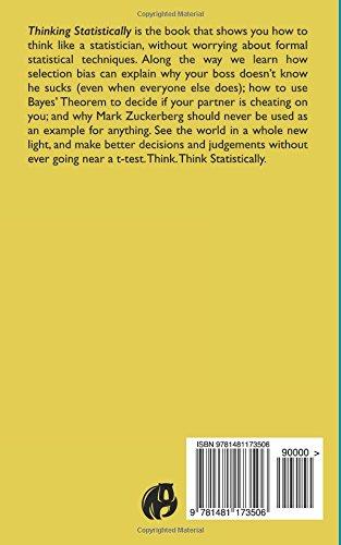 Thinking Statistically