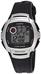 Casio Youth Silver Dial Mens Watch - W-210-1AVDF (I063)