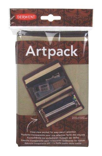 Derwent - Astuccio per matite, modello Artpack, in olona