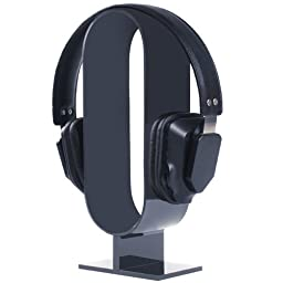 [Updated Version] AmoVee® Acrylic Headphone Stand Display Headphone Headset Holder
