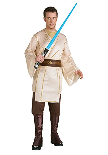 Rubies Mens Jedi Knight Star Wars Theme Party Fancy Dress Costume