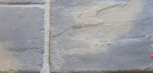 The Lakeland Garden Patio Paving Slabs 300 x 300mm (pack of 30) - Quarrystone and a Antique Grey