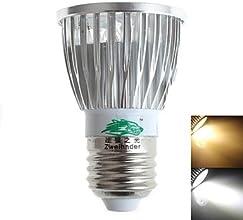 E27 5W 400LM 5xLEDs Spotlight AC 110-240V  Warm White