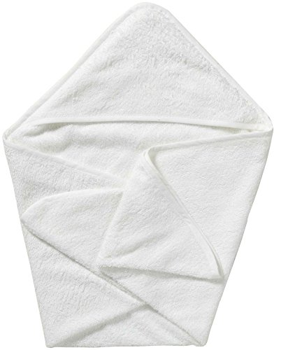 "Double-Ply, Super Absorbent Knit Hooded Bath Towel, Large (36"" X 36"") (White)"