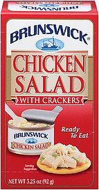 Brunswick Chicken Salad (With Crackers) 3.25Oz 12Pk
